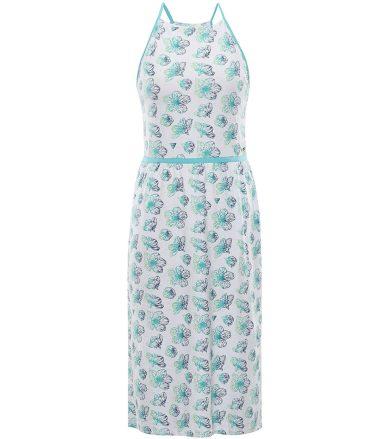 ALPINE PRO GYRA Dámské šaty LSKR221000PC bílá L