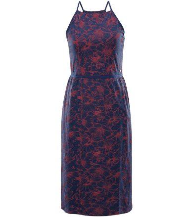 ALPINE PRO GYRA Dámské šaty LSKR221677PD estate blue L