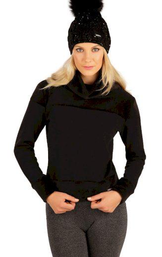LITEX Rolák dámský s dlouhým rukávem 7A088901 černá S