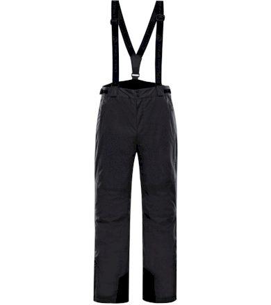 ALPINE PRO SANGO 5 Pánské lyžařské kalhoty MPAK263990 černá XXL