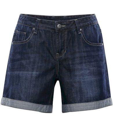 ALPINE PRO GERYGA Dámské riflové šortky LPAL223691 námořnická modř 36