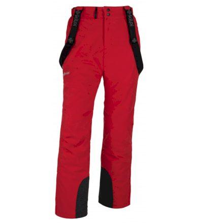KILPI Pánské lyžařské kalhoty MIMAS-M HM0013KIRED Červená XL