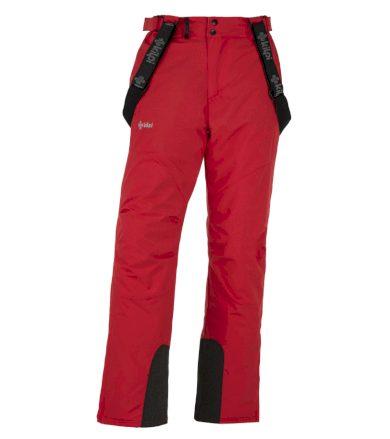 KILPI Pánské lyžařské kalhoty - větší velikosti MIMAS-M JMX013KIRED Červená 5XL