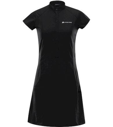 ALPINE PRO VAKIA 4 Dámské šaty LSKT283990 černá S