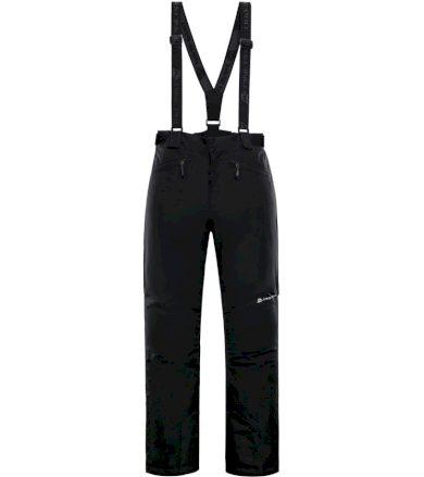 ALPINE PRO SANGO 6 Pánské lyžařské kalhoty MPAM312990 černá XXL