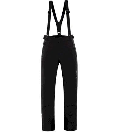 ALPINE PRO NEX 2 Pánské lyžařské kalhoty MPAM213990 černá XXL