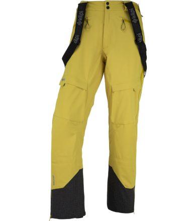 KILPI Pánské technické kalhoty LAZZARO-M JM0126KIYEL Žlutá M