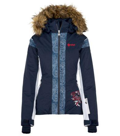 KILPI Dámská lyžařská bunda DELIA-W JL0198KIDBL Tmavě modrá 36