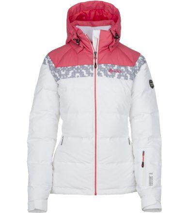KILPI Dámská lyžařská bunda SYNTHIA-W JL0111KIWHT Bílá 36