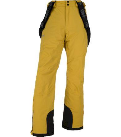 KILPI Pánské lyžařské kalhoty METHONE-M JM0012KIYEL Žlutá S