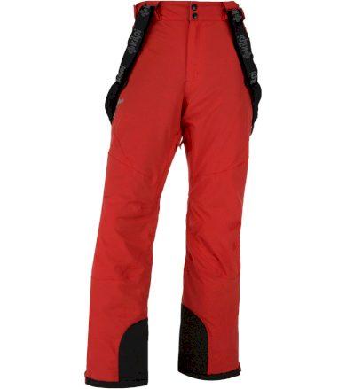 KILPI Pánské lyžařské kalhoty METHONE-M JM0012KIRED Červená XL