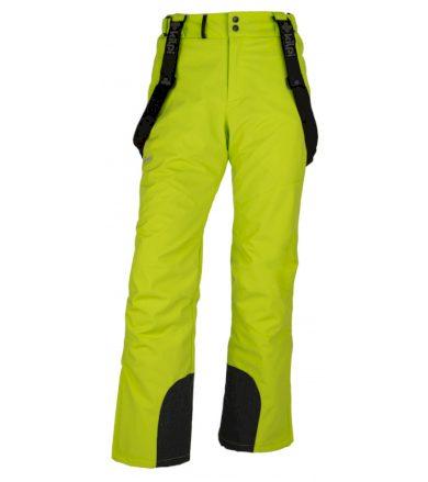KILPI Pánské lyžařské kalhoty MIMAS-M HM0013KILGN Zelená XL