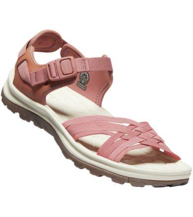 KEEN TERRADORA II STRAPPY OPEN TOE WOMEN Dámské sandály 10011614KEN01 redwood/pheasant 5(38)