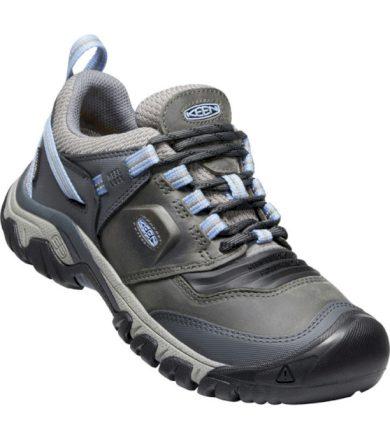 KEEN RIDGE FLEX WP WOMEN Dámská nízká treková obuv 10011634KEN01 steel grey/hydrangea 5(38)