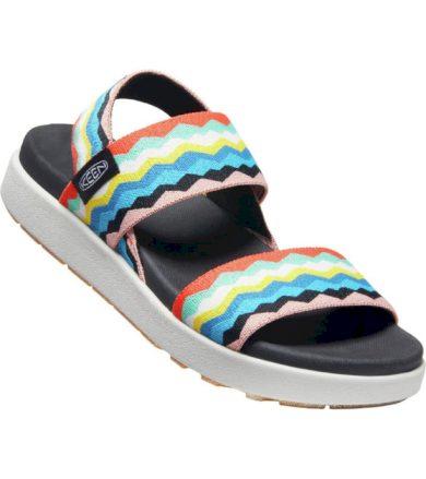 KEEN ELLE BACKSTRAP WOMEN Dámské sandály 10011559KEN01 black/peach pearl 5,5(38,5)
