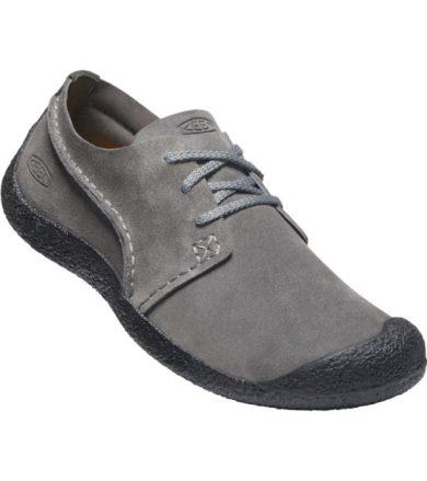 KEEN HOWSER SUEDE OXFORD MEN Pánská letní obuv 10011644KEN01 steel grey/black 9,5(44)