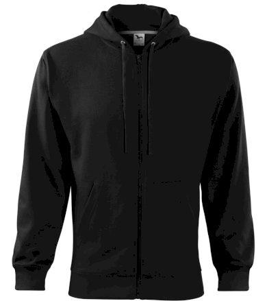Malfini Trendy Zipper Pánská mikina 41001 černá S