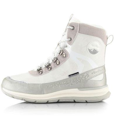 ALPINE PRO LUNEDA Dámská zimní obuv LBTS280000 bílá 37