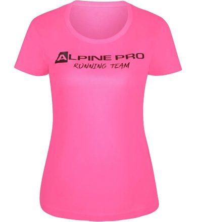 ALPINE PRO RUNNA Dámské funkční triko LTSR678452 růžová L