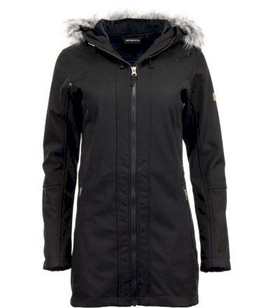 ALPINE PRO MASIA Dámský softshellový kabát LCTS137990R černá L
