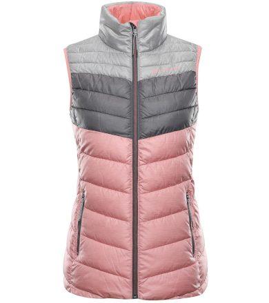 ALPINE PRO MINIKA Dámská vesta LVES070455 pink icing XL