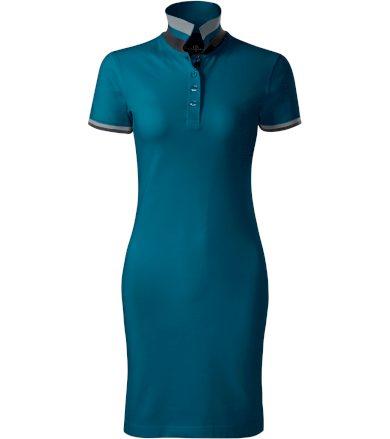 Malfini premium Dress up Dámské šaty 27193 petrolejová XS