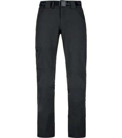 KILPI Pánské outdoorové kalhoty - větší velikosti JAMES-M PMX028KIBLK Černá 6XL