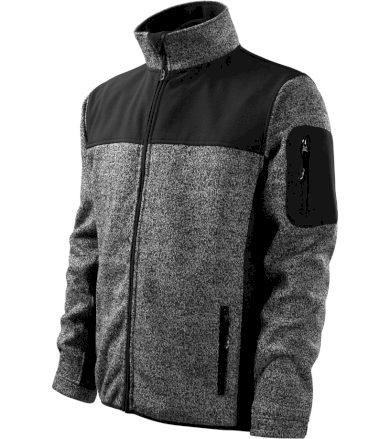 RIMECK Casual Softshell bunda 55080 Knit Gray M