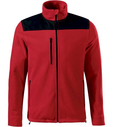 RIMECK Effect Uni fleece mikina 53007 červená S