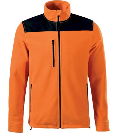 RIMECK Effect Uni fleece mikina 53011 oranžová S