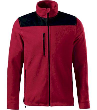 RIMECK Effect Uni fleece mikina 53023 marlboro červená S