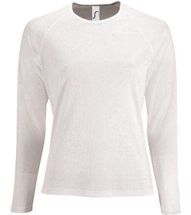 SOĽS Dámské funkční triko dlouhý rukáv SPORTY LSL WOMEN 02072102 Bílá L