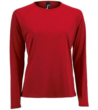 SOĽS Dámské funkční triko dlouhý rukáv SPORTY LSL WOMEN 02072145 Red L