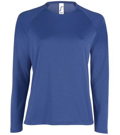 SOĽS Dámské funkční triko dlouhý rukáv SPORTY LSL WOMEN 02072241 Royal blue L