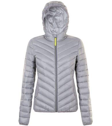 SOĽS Dámská péřová bunda RAY WOMEN 01621351 Metal grey L