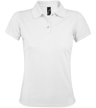 SOĽS Dámské polo triko PRIME WOMEN 00573102 Bílá L