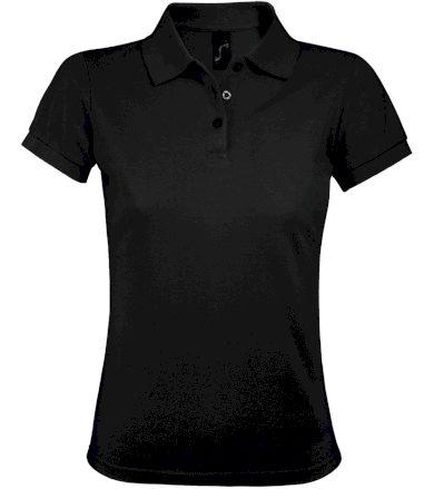 SOĽS Dámské polo triko PRIME WOMEN 00573312 Černá L