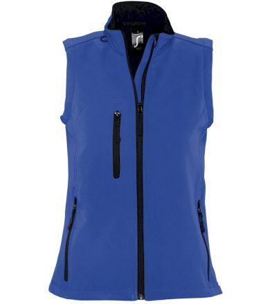 SOĽS Dámská softshellová vesta RALLYE WOMEN 46801241 Royal blue L