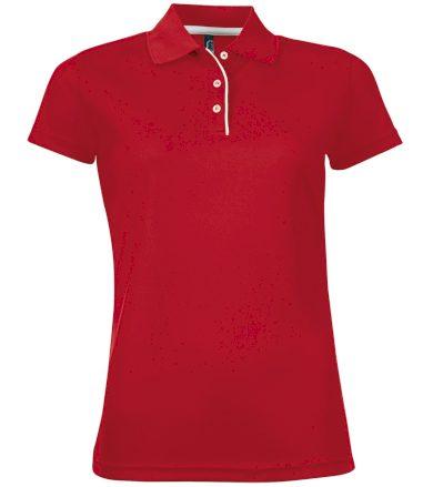 SOĽS Dámské funkční polo triko PERFORMER WOMEN 01179145 Red L