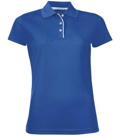 SOĽS Dámské funkční polo triko PERFORMER WOMEN 01179241 Royal blue L