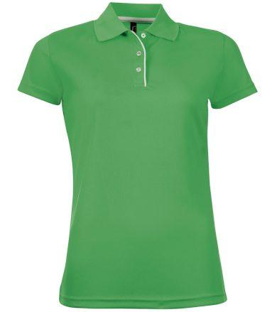 SOĽS Dámské funkční polo triko PERFORMER WOMEN 01179272 Zelená L