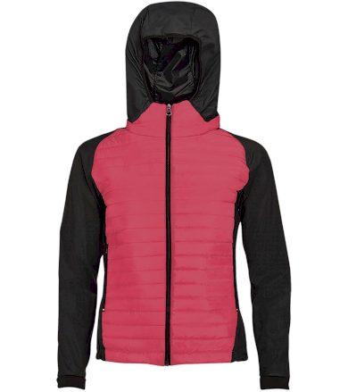 SOĽS Dámská sportovní péřová bunda NEW YORK WOMEN 01473153 Neon coral XL