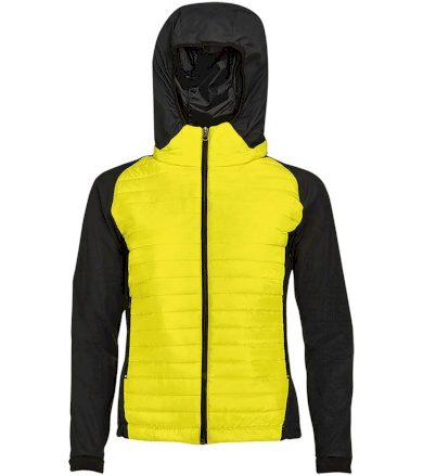 SOĽS Dámská sportovní péřová bunda NEW YORK WOMEN 01473306 Neon yellow L