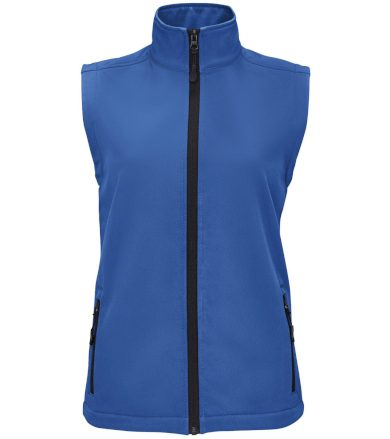 SOĽS Dámská softshelová vesta RACE BW WOMEN 02888241 Royal blue L