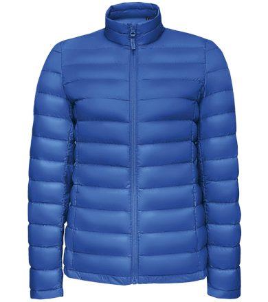 SOĽS Dámská péřová bunda WILSON WOMEN 02899241 Royal blue L
