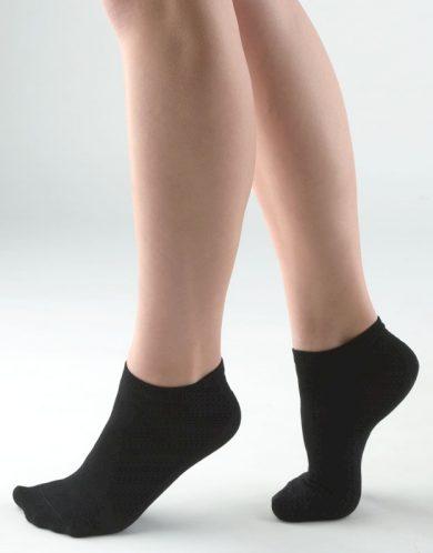 GINA Ponožky kotníčkové 82005-MxC černá 44-47