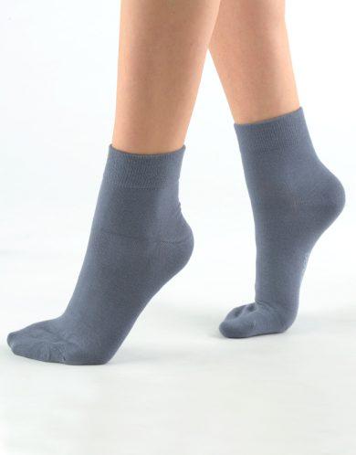 GINA Ponožky střední 82004-DxG tm. šedá 44-47
