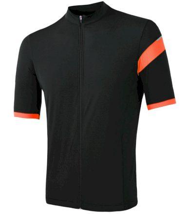 CYKLO CLASSIC Pánský cyklistický dres 20100041 černá/oranžová XXL