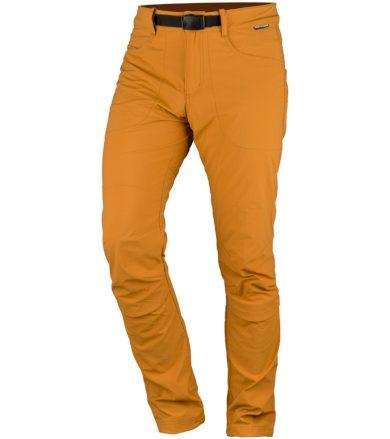 NORTHFINDER BRELIEN Pánské outdoorové kalhoty NO-3702OR478 žlutá M