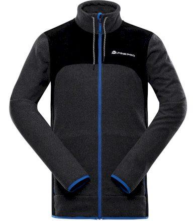 ALPINE PRO ARIS Pánský hřejivý svetr MPLT091770 šedá L